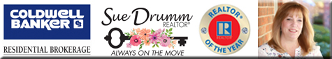Coldwell Banker- Sue Drumm- Realtor of the Year